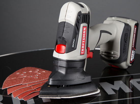 Craftsman Bolt-On Mouse-Style Sander
