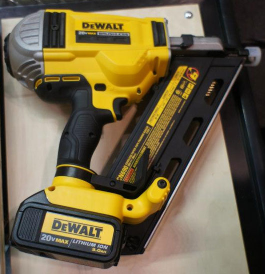 this is what dewalts new 20v cordless brushless framing nailer looks like