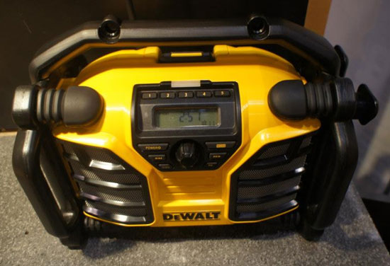 Dewalt DCR015 20V Radio