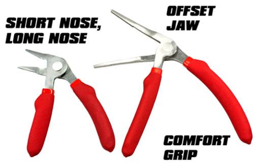 New EZ Red Kiwi Ergo-Grip Pliers