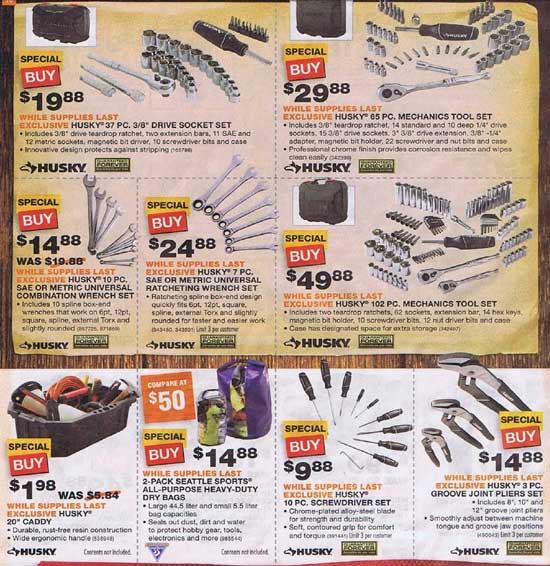Home Depot Black Friday 2012 Tool Deals 11