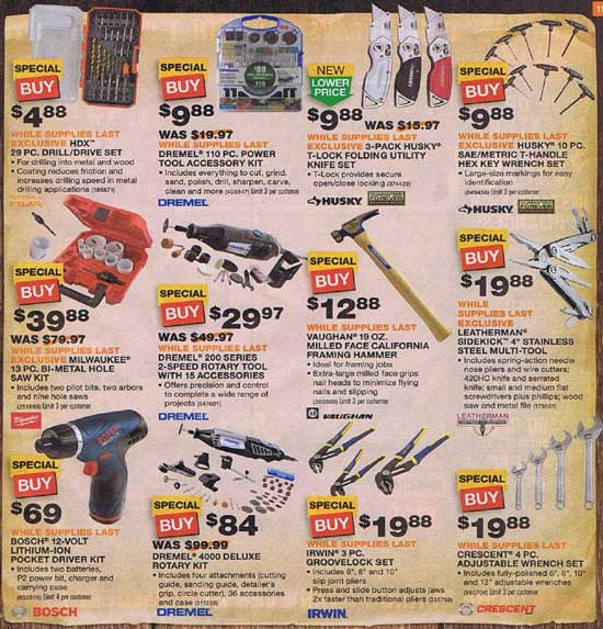 Home Depot Black Friday 2012 Tool Deals 13