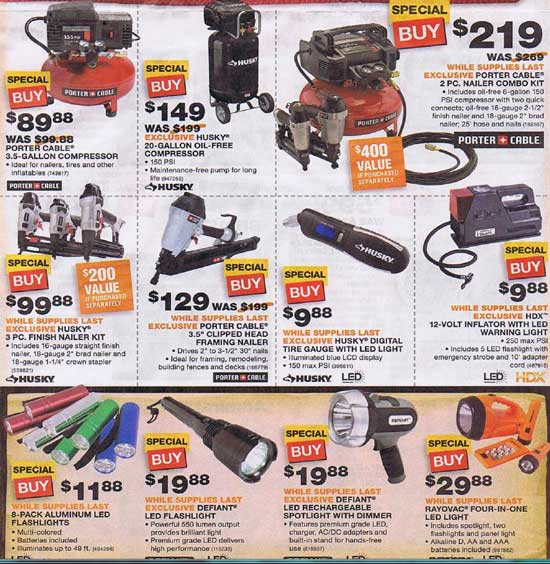 Home Depot Black Friday 2012 Tool Deals 14