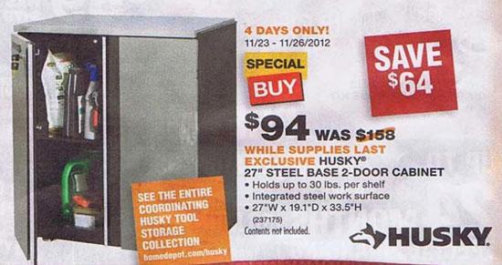 Home Depot Black Friday 2012 Tool Deals 4