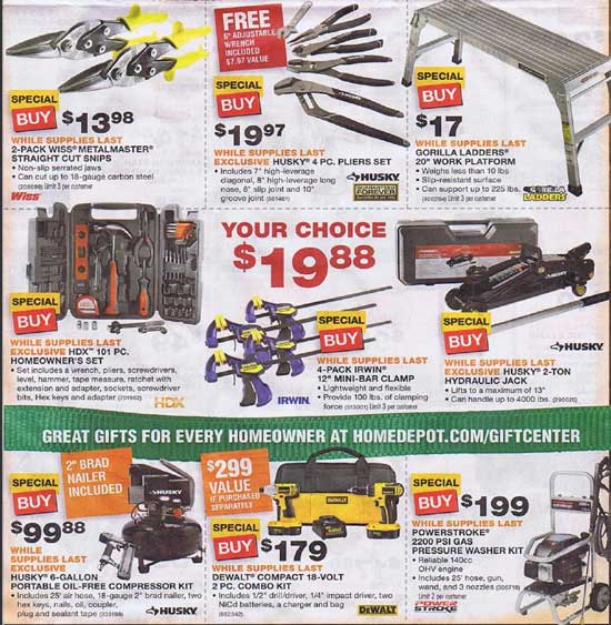 Home Depot Black Friday 2012 Tool Deals 6
