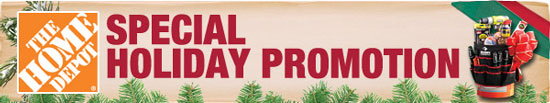 Home Depot Cyber Monday 2012