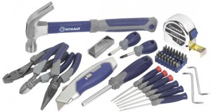 'Kobalt Home Tool Kit Deals' from the web at 'http://toolguyd.com/blog/wp-content/uploads/2012/11/Kobalt-60pc-All-Purpose-Home-Tool-Set-300x160.jpg'
