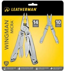 Leatherman Wingman + Micra Multi-tool Combo for $25