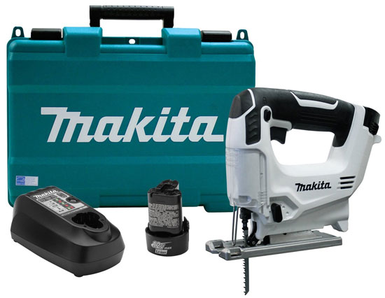 Makita 12V VJ01W Cordless Jig Saw Kit
