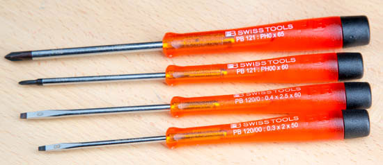 PB Swiss Precision Screwdriver Set