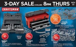 Sears Craftsman Black Friday 2012 Adscans
