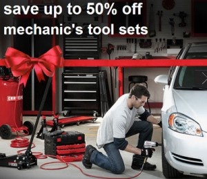 Sears Veteran's Day Sale: Save up to 50%-Off Craftsman Mechanics Tool Sets