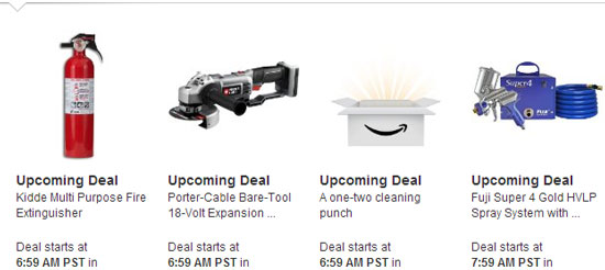 Amazon Tools Lightning Deals 12-12-12 4