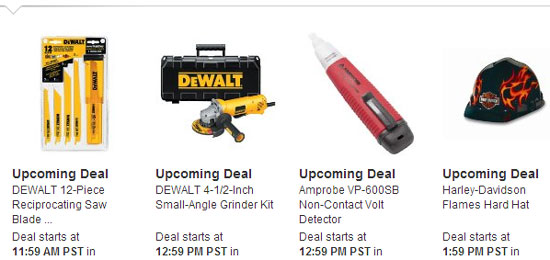 Amazon Tools Lightning Deals 12-12-12 7