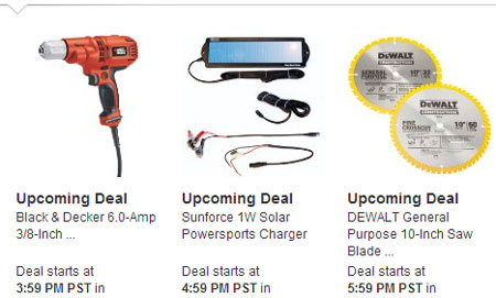 Amazon Tools Lightning Deals 12-12-12 8