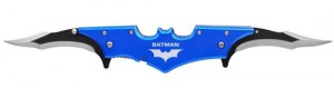 Uncomfortable and Awkward-Looking Batman Batarang Knife