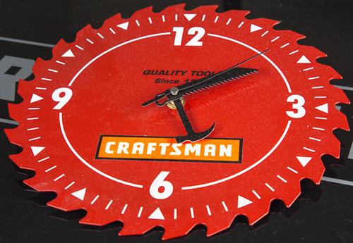 Craftsman Saw Blade Clock