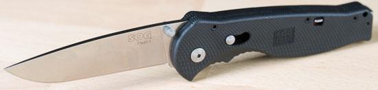 Sog Flash II Knife Deployed