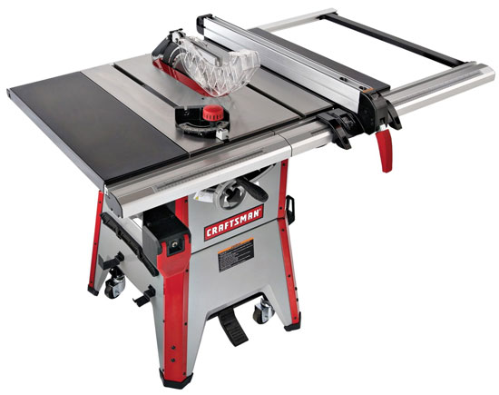 Craftsman 21833 Contractor Table Saw