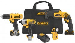 Hot Deal: Dewalt 12V 4-Tool Combo Kit for $229!