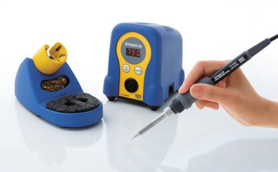 new hakko fx 888d digital soldering station. Black Bedroom Furniture Sets. Home Design Ideas