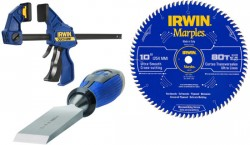 Save an Extra 15% on Irwin Woodworking Tools and Accessories