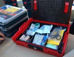 Bosch L-Boxx First Aid Kit and 2013 Sneak Preview
