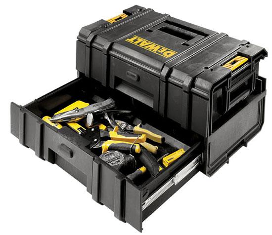 New Dewalt Toughsystem 2 Drawer Tool Box Dwst08225 Amp Ds250