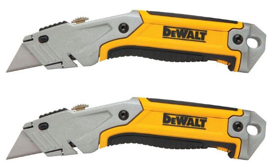 Dewalt Fixed Handle Utility Knives 2-Pack