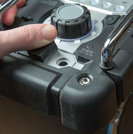 Makita Jobsite Radio LXRM03B Dust Proof Flap