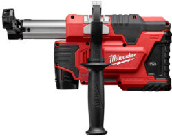 Milwaukee M12 HammerVac Provides Universal Masonry-Drilling Dust Extraction