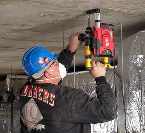 Dewalt Dust Extractor >> Milwaukee M12 HammerVac Provides Universal Masonry-Drilling Dust Extraction