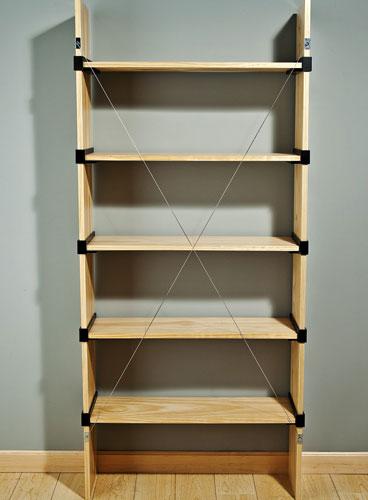 Rockler i semble diy shelving bracket kits for Diy basic bookshelf