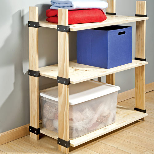 how to build shelving unit