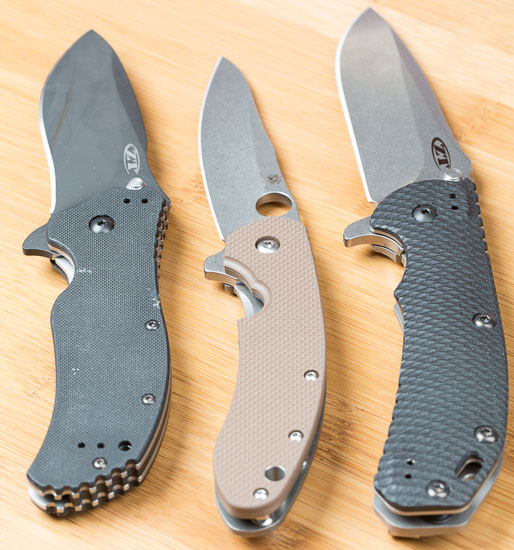 Spyderco Southard Knife Compared to Zero Tolerance 560 and 350