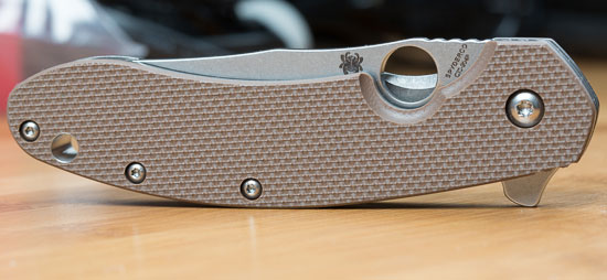 Spyderco Southard Knife G-10 Texture