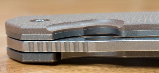 Spyderco Southard Knife Jimping