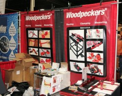 Woodpeckers Booth Woodworking Shows 2013