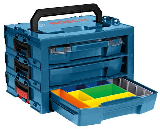 bosch l rack an expandable l boxx compatible organizer. Black Bedroom Furniture Sets. Home Design Ideas