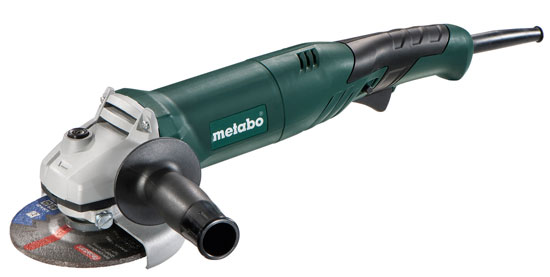 New Metabo Lightweight and Ergonomic Angle Grinder
