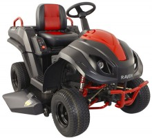 Raven Hybrid Lawn Mower, a 3-in-1 Gas-Fueled Electric-Powered Rider