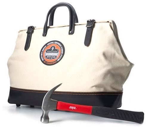 Arsenal Canvas Tool Bag