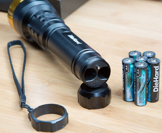 DieHard 6AA Extreme LED Flashlight Review