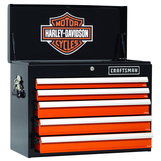 New Craftsman Special Edition Harley-Davidson Tool Boxes