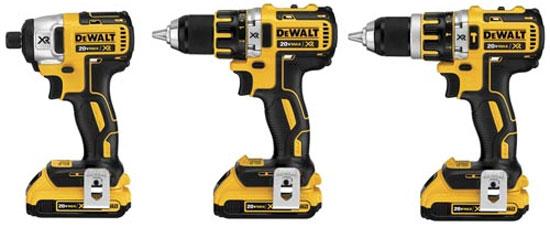 Dewalt 20V Max XR Brushless Drill Driver Family