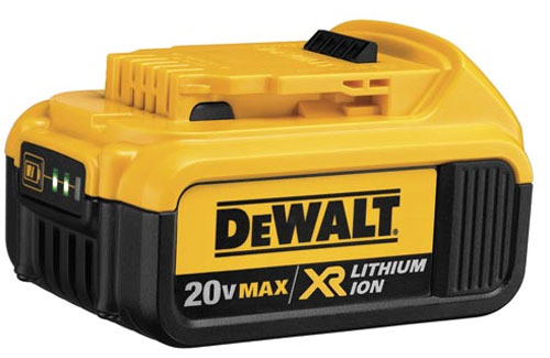 Dewalt 20v max xr battery charge time