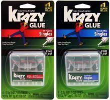Single-Use Krazy Glue Tubes