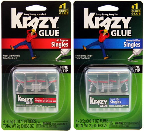 Krazy Glue Single Use Packets