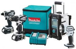 Makita LCT400W 18V Cordless Tool Combo Kit