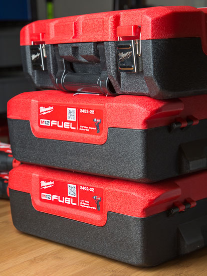 Milwaukee M12 Fuel Driver Cases